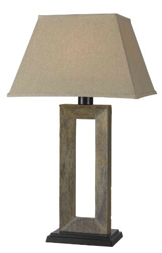 Kenroy Outdoor Lighting (Kenroy Home 30515SL Egress Outdoor Table Lamp)