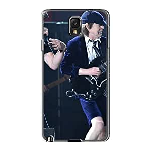 Protective Hard Cell-phone Cases For Samsung Galaxy Note3 With Allow Personal Design Beautiful Ac Dc Band Image