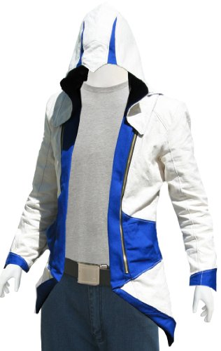 Xport Design's Assasin's Creed Cosplay Leather Jacket : Kenway, Large