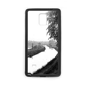 Samsung Galaxy Note 4 Case, 1912 delaware river titusville new jersey Case for Samsung Galaxy Note 4 Black