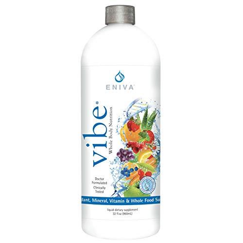 Eniva Fruit Sensation Vibe 32 oz Liquid Vitamins and Minerals Dr. Formulated for Maximum Absorption