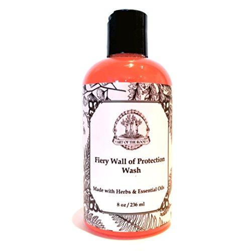 Fiery Wall of Protection Wash 8 oz Hoodoo Voodoo