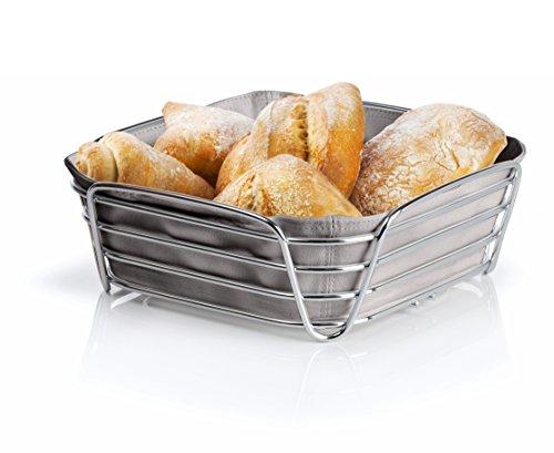 Blomus DELARA Bread Basket, Large - Taupe 63668 by Blomus (Image #1)