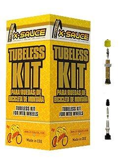 Kit Tubeless Rueda X-Sauce (2 Ruedas) 27.5 Pulgadas - 20mm | Presta: Amazon.es: Deportes y aire libre