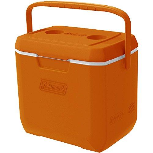 Coleman 28-Quart Xtreme 3 Cooler Holds 36 Cans (Orange, 28 - 28 Quart Cooler Coleman