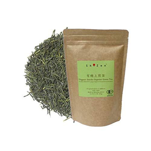 Spring Pick - Organic Sencha Superior Green Tea Loose Leaf from Japan - ShiZen Tea
