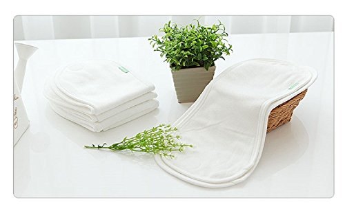 Mooroo Peanut Diaper Liner Pad, First-Stage Diaper Pad 10pcs Small + Waterproof Cover 1pcs Small by Mooroo