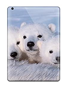 Durable Protector Case Cover With Polarbears Hot Design For Ipad Air