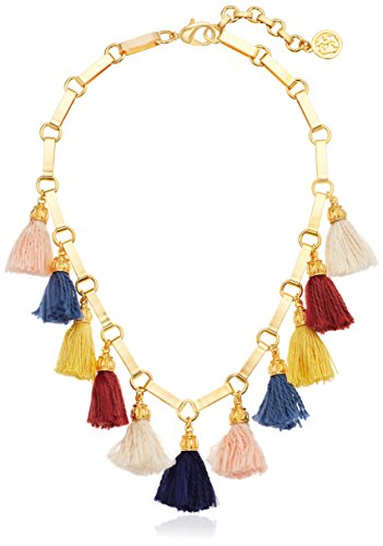 Ben-Amun Jewelry – Cadena Veneciano Breeze Multi Seda Tassel Necklace