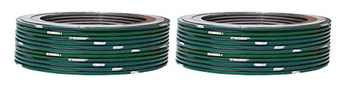 Pack of 24 Green Band with Grey Stripes for 1//2 Pipe for 1//2 Pipe Supplied by Sur-Seal Inc of NJ Sterling Seal 9000IR.500316GR1500X24 316L Stainless Steel Spiral Wound Gasket with 316SS Inner Ring and Flexible Graphite Filler