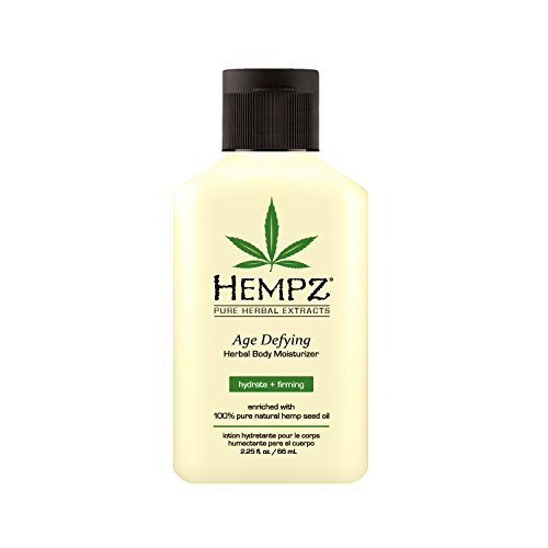 (Hempz Body Moisturizer - Daily Herbal Moisturizer, Shea Butter Anti-Aging Body Moisturizer - Body Lotion, Hemp Extract Lotion - Skin Care Products, 100% Pure Organic Hemp Seed Oil)