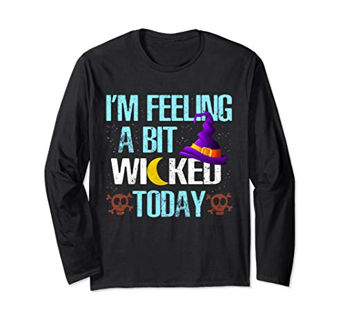 Homemade Halloween Costumes For Teenager (Funny Witch Halloween Gifts for Women Girls Teens Witchcraft Long Sleeve)