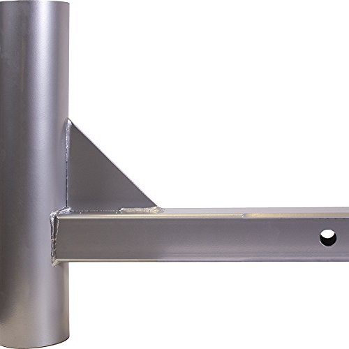 - Hitch Mount for Large Diameter Portable Flagpole