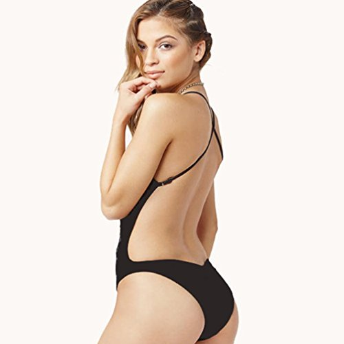 968875da36a Sunward Women Sexy One Piece Swimsuit Push Up Padded Bikini Monokini ...