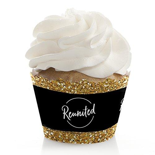 Reunited - School Class Reunion Party Cupcake Decorations -