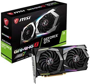 MSI GeForce GTX 1660 Gaming X 6G - Tarjeta Gráfica Enthusiast