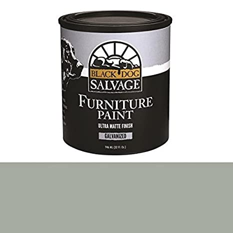 Black Dog Salvage Galvanized Gray Furniture Paint 946ml