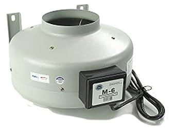 Tjernlund M 6 Inline Duct Booster Fan Hydroponic Blower
