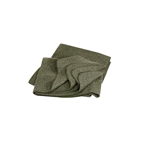 Mil-Spec Adventure Gear Plus MSA02-0311004412 80% Wool Military Blanket, OD by Mil-Spec Adventure Gear Plus
