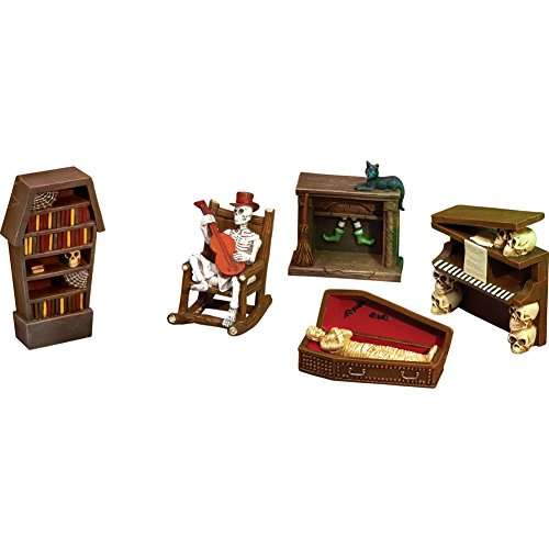 Collectible Halloween Mini Furniture Set - 5