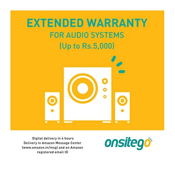 ONSITEGO 1 Year Extended Warranty for Audio Systems