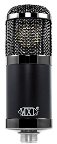 MXL Cr89 Premium Low Noise Condenser Microphone with Shock Mount and Flight Case