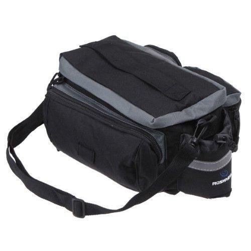 TopSun Roswheel Rear Seat Trunk Bag Handbag Bag Pannier for Bicycle Black by TOPSUN (Image #2)