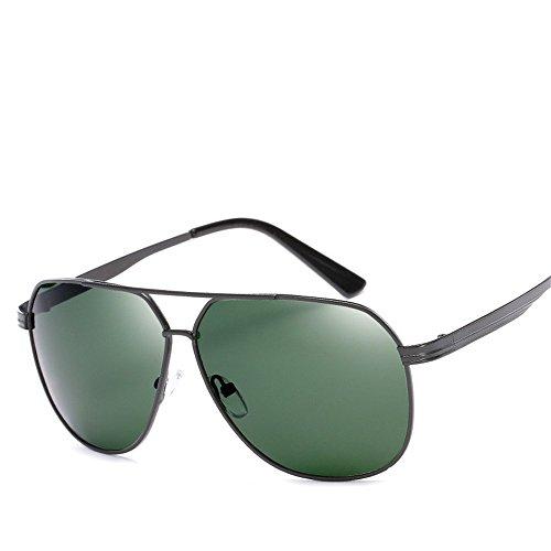 métal Noir Foncé polarisées soleil Cadre Vert en CHshop Lunettes de nzq7XHq0