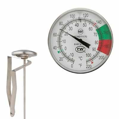 RATTLEWARE EASY STEAM MILK FROTHING THERMOMETER