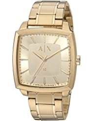 Armani Exchange Mens AX2364 Gold Watch