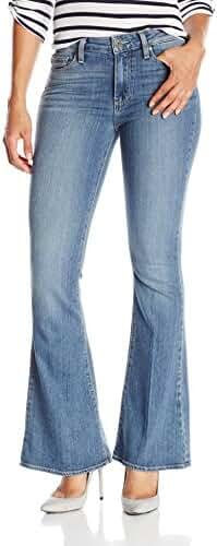 PAIGE Women's Petite Size High Rise Bell Canyon Jeans-Ellington
