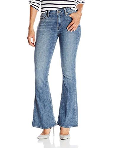 PAIGE Women's Petite Size High Rise Bell Canyon Jeans, Ellington, (Paige Denim Petites)