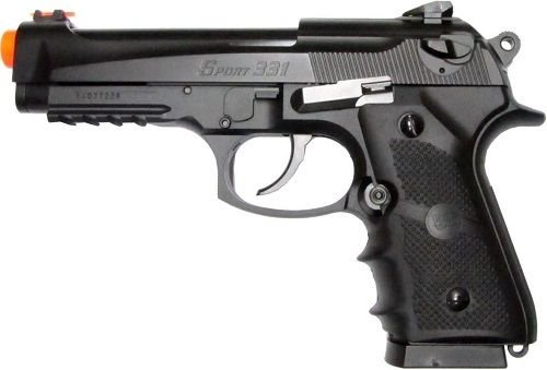 500 FPS WG AIRSOFT M9 BERETTA BLOWBACK CO2 HAND GUN PISTOL w/ 6mm BB