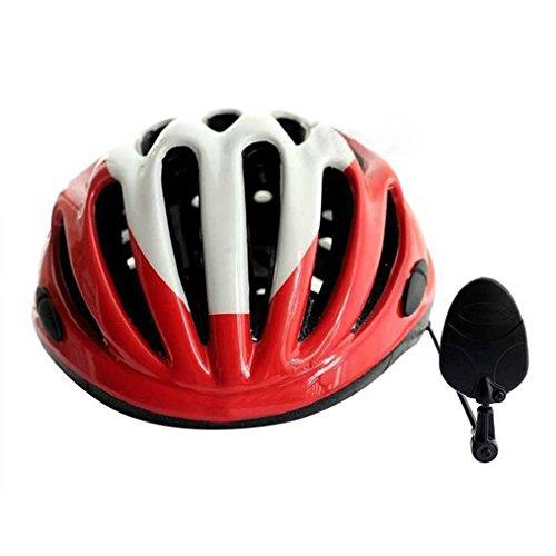 Cheap Tiean Univesal Bike Helmet Mirror Adjustable MTB Road Bicycle Cycling Rear View Mirror (Black)
