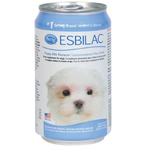 Esbilac Liquid Milk Replacer for Puppies & Dogs, 8oz Can, 4-Pack