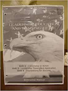 Leadership education and training let 1 book