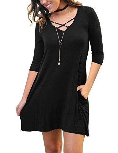 Buy black shift dress size 14 - 8