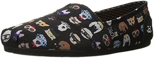 BOBS from Skechers Women's BOBS for Dogs Plush Slip-On Flat