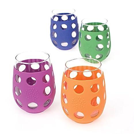Vidrio Copa de Vino Cristal 2 Piezas 473 ml Lifefactory 10.16 x 19.05 x 24.13 cm