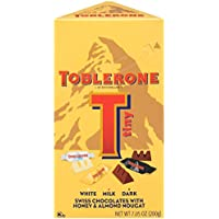 Toblerone Tiny Variety Gift Box Milk & Dark Chocolate, 7.05 Ounce