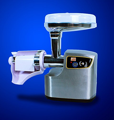 New 3000W Deluxe Stainless Steel Electric Meat Grinder Sausage Stuffer MT199
