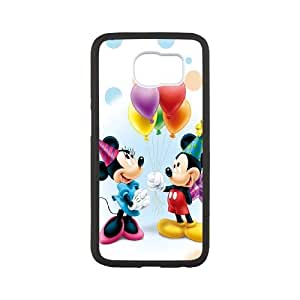 Samsung Galaxy S6 Cell Phone Case White Micky Mouse M2360052