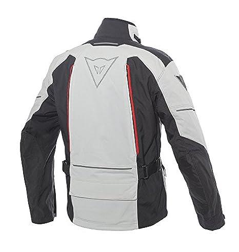 Dainese SANDSTORM GORE TEX Giacca da moto, Glacier GrigioNeroRosso, Taglia 52