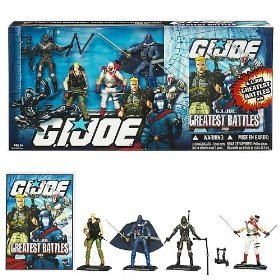 Gi Joe Duke Costumes (G.I. JOE Greatest Battles DVD Collectors set including Duke, Cobra Commander, Snake Eyes and Storm Shadow and DVD)