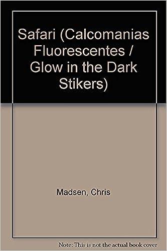 Book Safari (Calcomanias Fluorescentes / Glow in the Dark Stikers)
