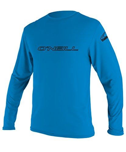 O'Neill Wetsuits UV Sun Protection Mens Basic Skins Long Sleeve Tee Sun Shirt Rash Guard