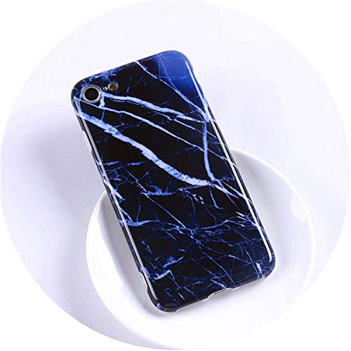 Luxury Marble Phone Case for iPhone Case Cover Coque Fundas Capa carcasa,F2,for iPhone 6Plus -