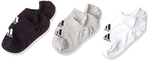 Cv7410 Adidas Grey noir Medium blanc Mixte Chaussettes Heather drqFrA
