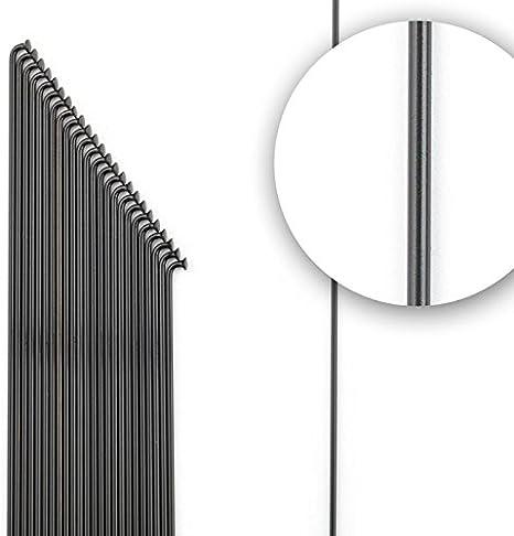 300mm inkl Speichen Silber 2.6 // 80mm Don Speiche Nippel // Wunschlänge