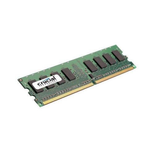 Crucial CT12864AA800 1GB 240-pin DDR2 800mhz (PC2 6400) Non-ECC 1.8V CL6 Desktop Memory module ()